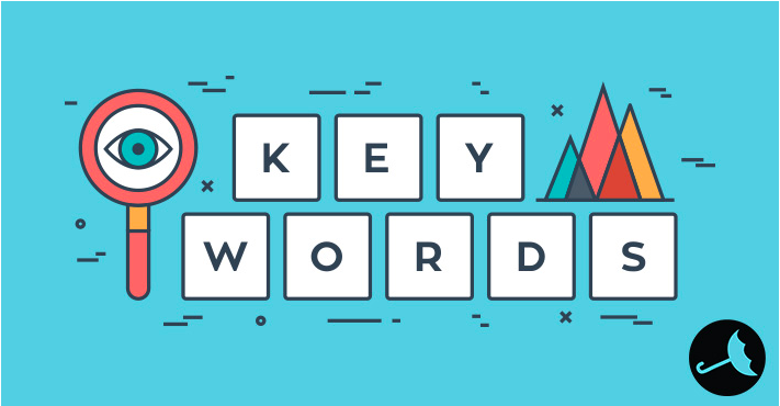 Key Words spelled out in block letters