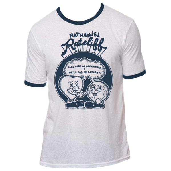 Nathaniel Rateliff's Heart and Globe Tee